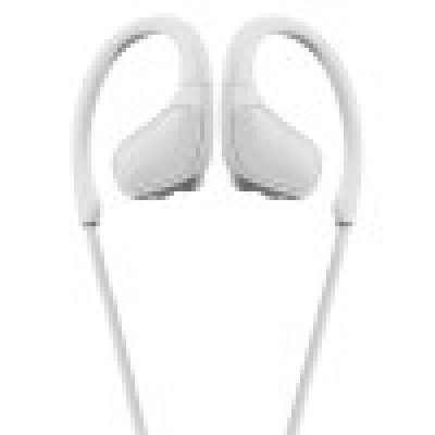 Promate Wireless Headphones, Premium Sweatproof Bluetooth v4.1 Sport Behind-Ear Running Earphones with HD Sound Quality, Noise Cancelling and Built-in Mic for Gym, Smartphones, iPod, Spirit White