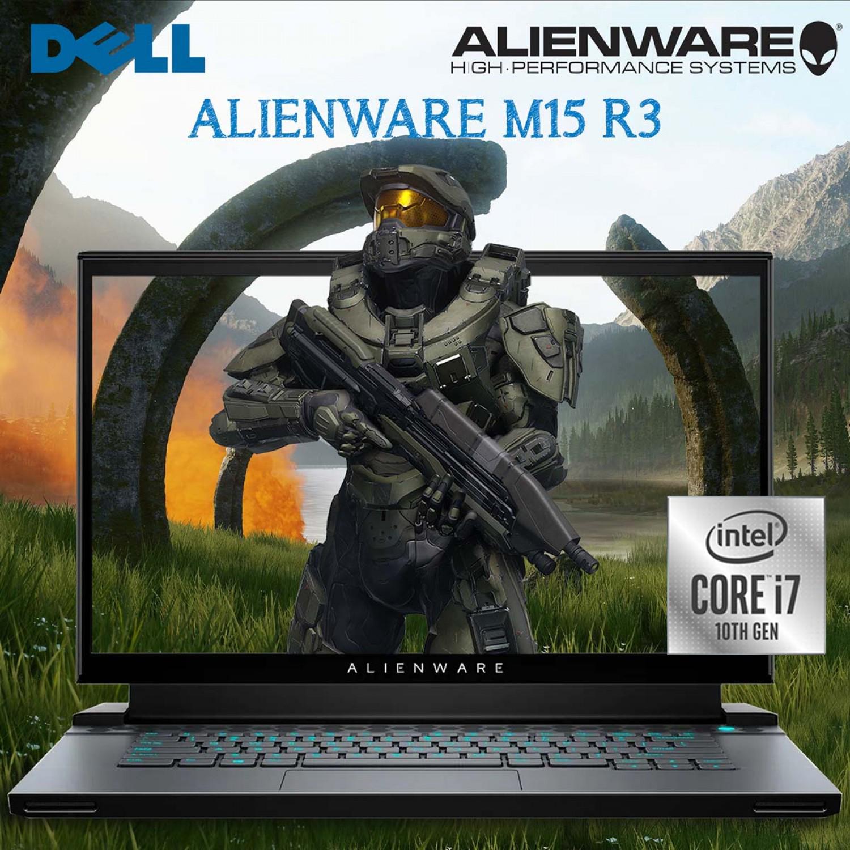 "Dell Alienware Laptop M15 R3 Intel 10th Gen i7-10875H 32GB 1TB SSD RTX2080 8GB Graphic 15.6"" Full HD Windows 10 Black"