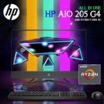 """HP AIO 205 G4 All In One, AMD Ryzen 5 3500 4GB, 1TB, 21.5"""", DOS, En - Iron Grey"""
