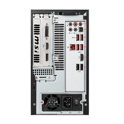 MSI Gaming PC MAG Infinite computer S 10SA-032AE Intel 10th Gen i7-10700 H410 MB 8GB DDR4 256GB SSD+1TB HDD GTX1650 Super 4GB Fan Cooler Black Color