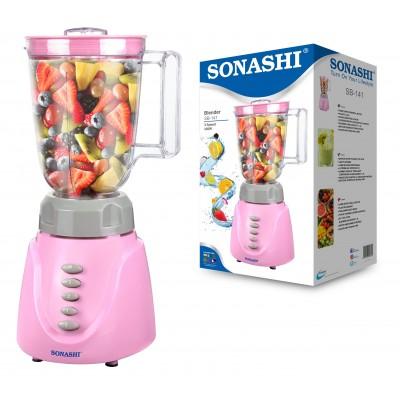 SONASHI 3 SPEED BLENDER 350W ( Pink-Gray )