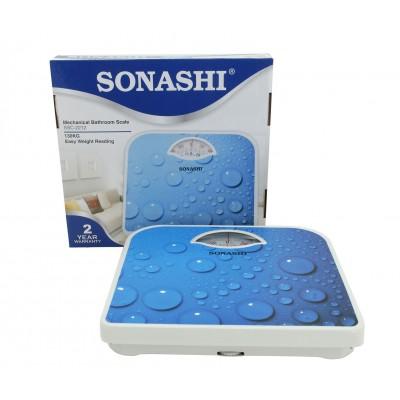 SONASHI MANUAL BATHROOM SCALE 2212(BLUE)