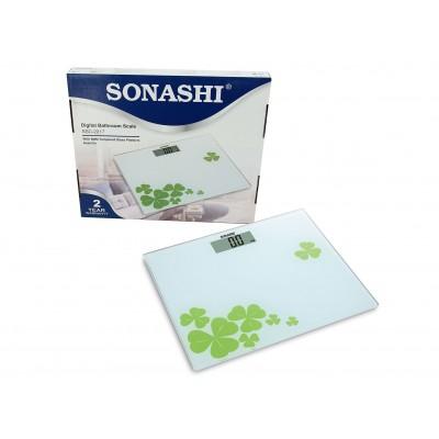 SONASHI DIGITAL BATHROOM SCALE (L-BLUE)