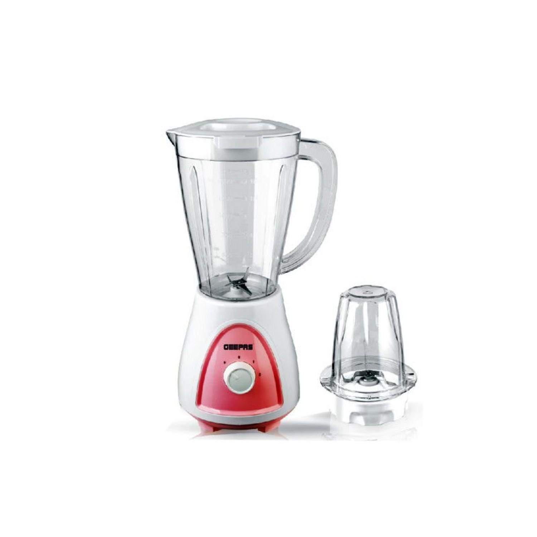 Geepas GSB5485 Plst Jar Blender 2 In 1, 1.5L