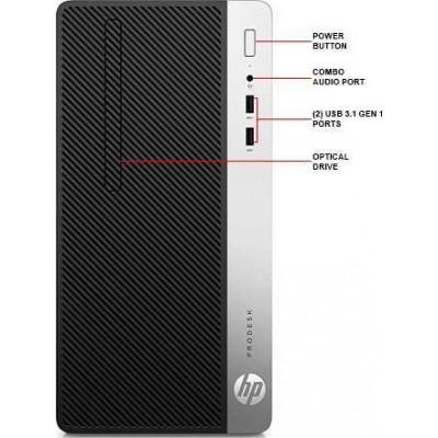 "HP ProDesk 400 G4 MT Intel Core i5-7500, 4GB, 1TB, 18.5"" Eng"