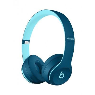Beats Solo 3 Wireless Bluetooth Over-Ear Headphone- Pop Blue