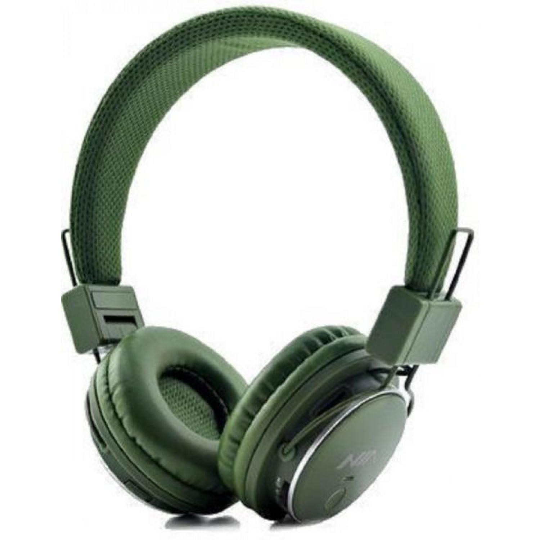 Nia Q8 wireless Bluetooth Headphone Green