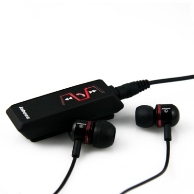 Jabees IS901 Bluetooth V4.1 Music Receiver Stereo Headphones with 3.5mm In-Ear Audio Earbuds