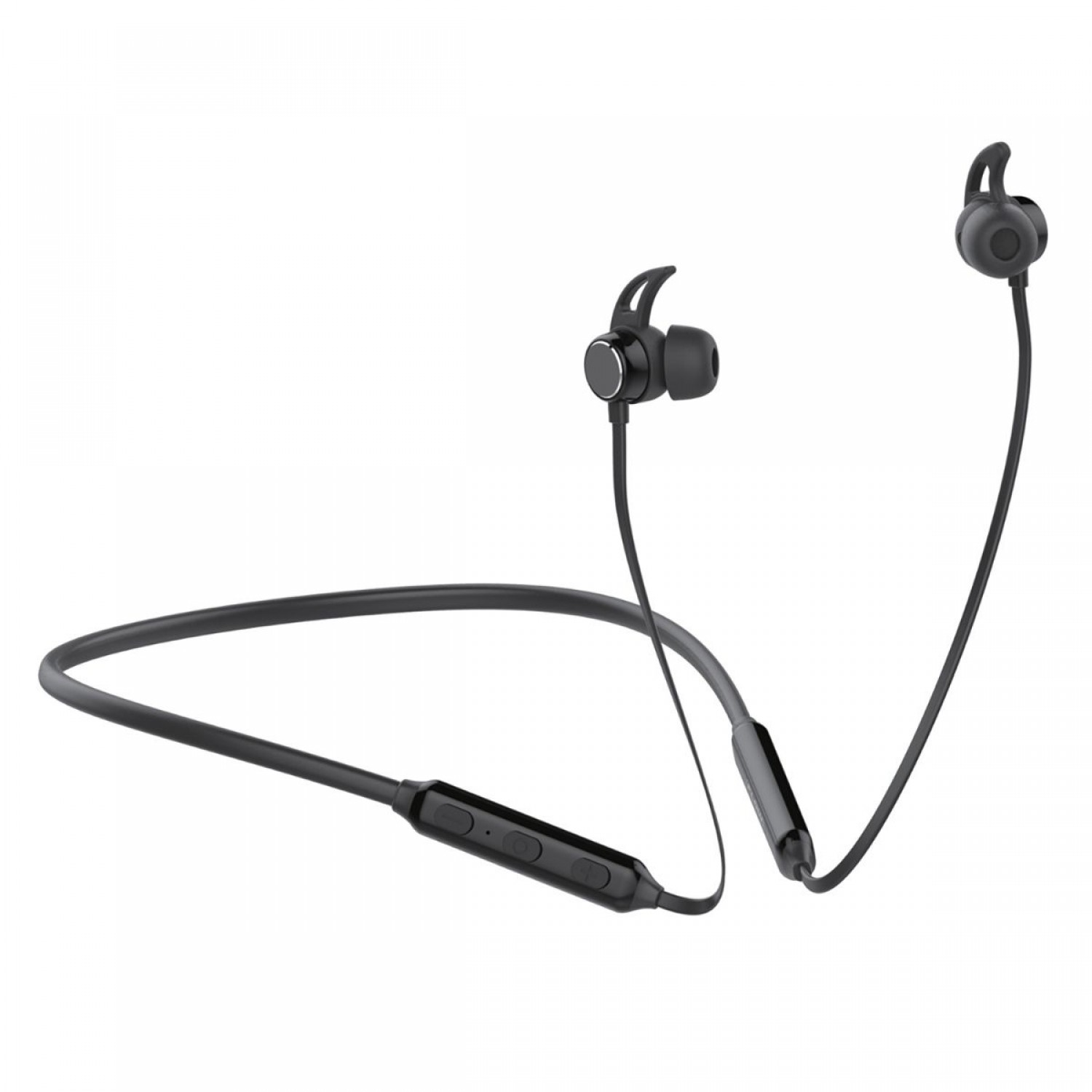 Promate Wireless Headphone, Lightweight IPX4 Water-Resistant Bluetooth 5.0 Stereo Earphones with Built-In Mic, Multi-Point Pairing and Secure Fit Design for Gym, Running, Smartphones, Tablets, Flow