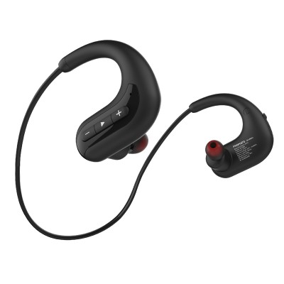 Promate MP3 Player Bluetooth Headphone, IPX8 Waterproof Ultra-Light Bluetooth 4.2 Hi-Fi Sound Neckband Noise Cancelling Headphone with Built-In 8GB MP3 Player and Mic for Smartphones, Calls, Music, Tablets, DiveMate