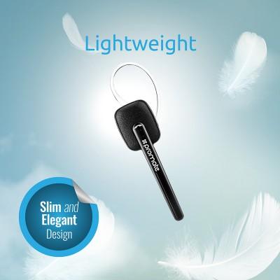 Promate Bluetooth Headset, Multipoint Pairing Headset - Promate BlueClass2, Black