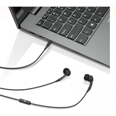 Lenovo 100 In-Ear Headphone- Black