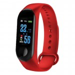 CTRONIQ Bond X - Smart Activity Tracker, BT connect, Health monitors, Daily alarms & reminders, Red