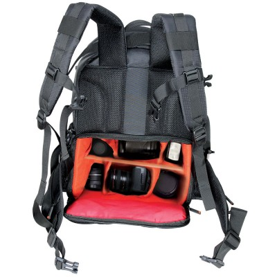 Promate Camera Backpack, Multifunctional DSLR SLR Camera and Laptop Backpack with Water Resistance Cover for Nikon, Canon, Sony – Acepak