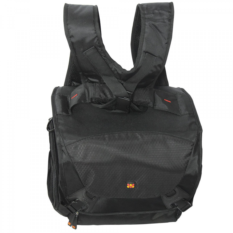 Promate Camera Bag, Compact Hybrid SLR and DSLR Camera Bag with Multiple Pockets for Canon, Nikon, Panasonic, Sony – Linkpak