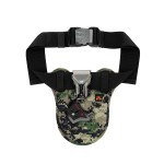 Promate DSLR Holster Belt Holder, Universal Camera Waist Belt Clip Holster with Quick Release Launch for DSLR Camera for Canon Nikon Sony – Bolster-Camouflage