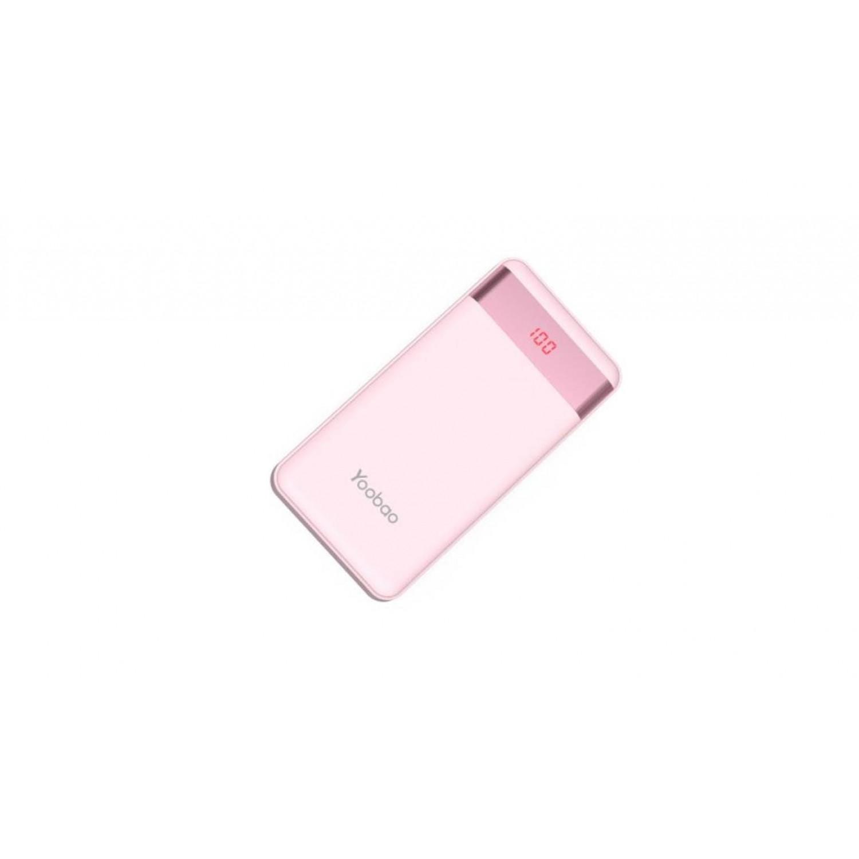 Yoobao YB PL12Pro LED Powerbank 12000mAh Pink