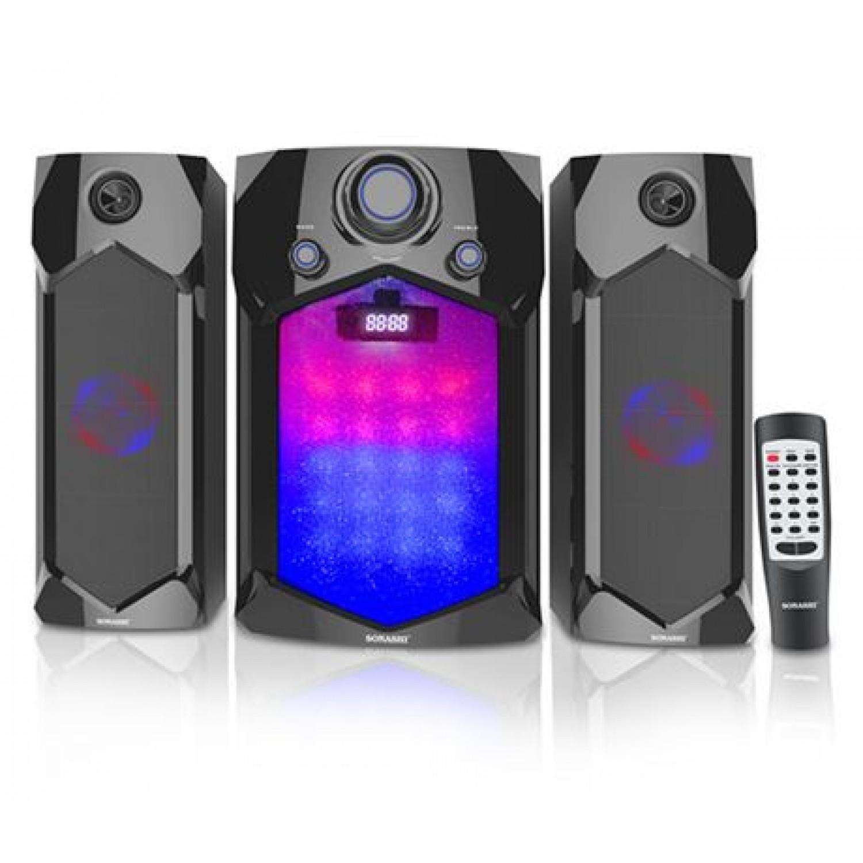 Sonashi SHS-2107USRB 2.1 Ch Bluetooth Speaker With USB ,SD Card Slot & FM