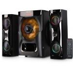 Sonashi SHS-2105USRB| 2.1 Ch Bluetooth Speaker with Karaoke