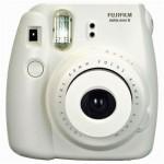 Fujifilm  Instax Mini 8 Instant Polaroid Camera -White