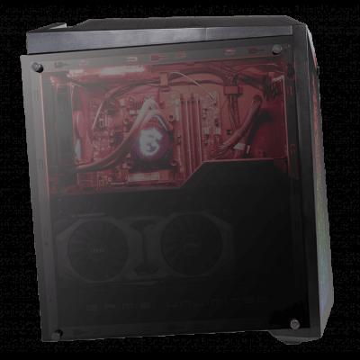 MSI Infinite X Plus Gaming Desktop 9SF-415AE - Intel i9-9900K Z390 VGA 2080TI 11G 32GB (16*2)DDR4 2TB HDD 512GB PCIE SSD(256*2) 9.5mm Super multi Wireless AC 9462 M.2 Win 10 Home 850Watts  Astek Water Cooling