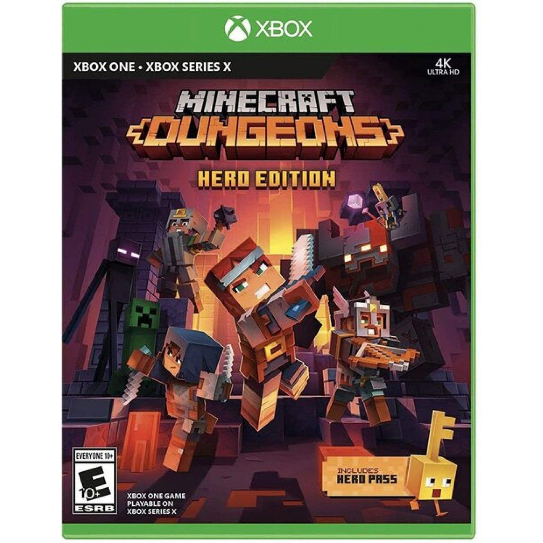 Minecraft Dungeons Hero Edition Xbox One Series X