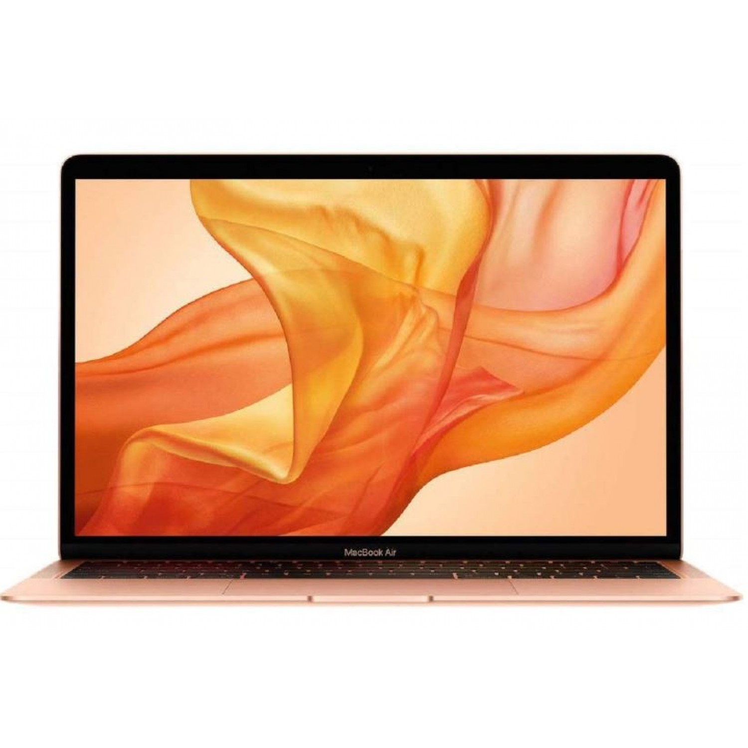 Apple MacBook Air with Touch ID MVFM2AE Laptop - Intel Core i5-8th Gen, 1.6 core, 13 Inch with Retina, 128GB SSD, 8GB, MacOS, Arabic Keyboard, Gold 2019