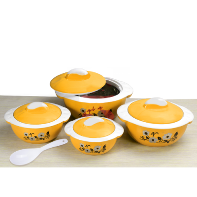 Olympia OE-2003, Casserole Set 4 Pcs With Serving Spoon