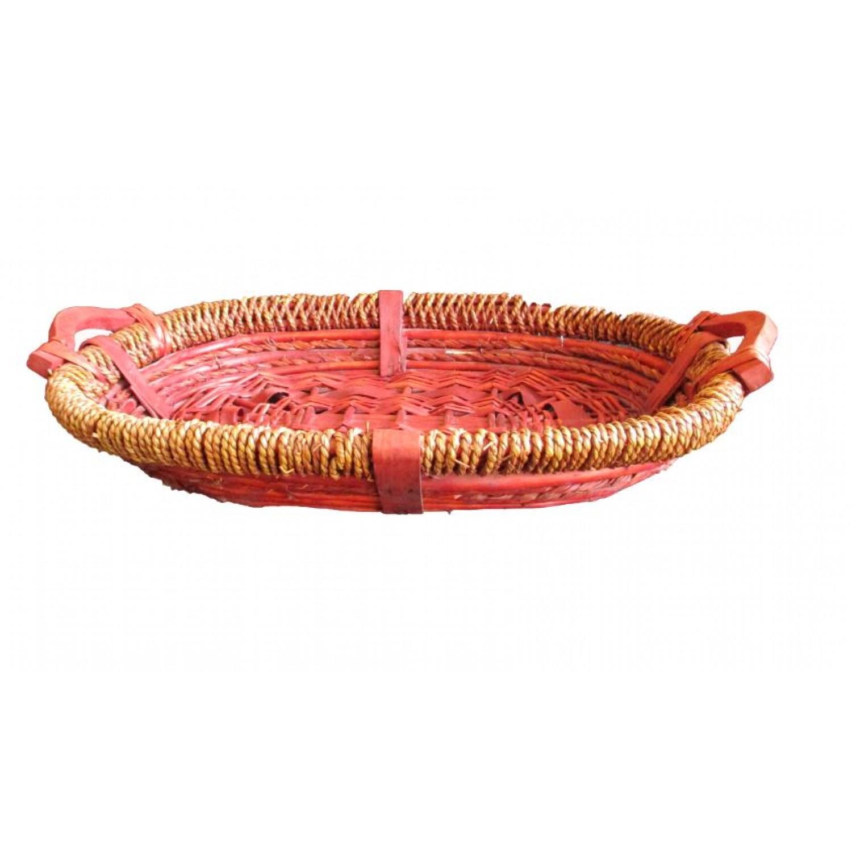 Natural Basket Tray- single pc