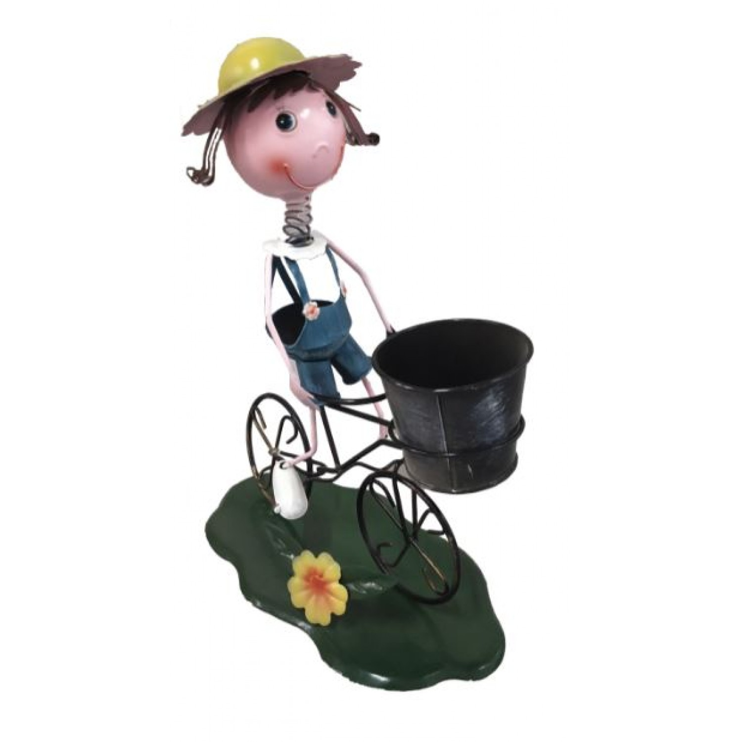 Funny looks,Garden stand,plant container,stand- single pc