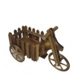 Wooden Cycle Flower stand