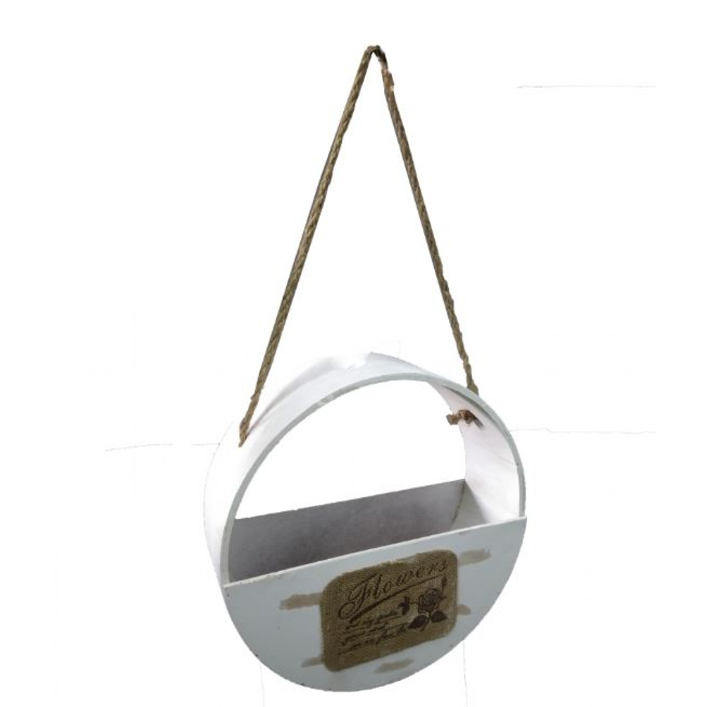 Wooden plant hanger- single pc