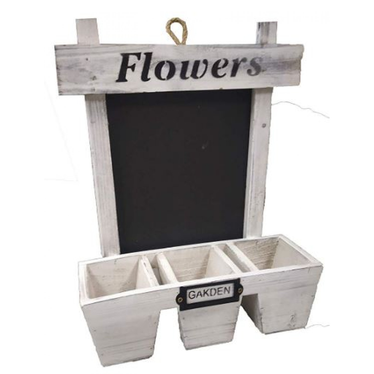 Wooden flower stand wall hanger- single pc
