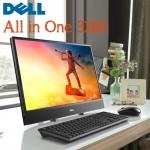 """Dell Laptops - AIO 3280 intel 8th Gen i3-8145U 4GB 1TB HDD 21.5"""" Full HD USB Keyboard & Mouse DOS Black Color"""