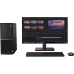 """Lenovo Desktop V530T Tower, Intel Core i7-9700, 4GB Ram, 1TB, Dos, Wired Keyboard & mouse + 22"""" LED"""