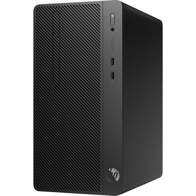 Hp Desktop PC 290 G4 Micro tower Intel Core i3-10100, 4GB, 1TB, DOS, Eng with USB Keyboard and Mouse