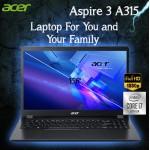 Acer Aspire Laptop - 3 A315 10th Gen Intel Core i7-1065G7, 8GB RAM 1TB HDD 2GB MX330 15.6-Inch Full HD Eng Keyboard Dos Black